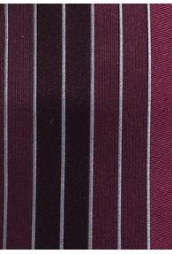 Krawatte lilafarben senkrechte Streifen