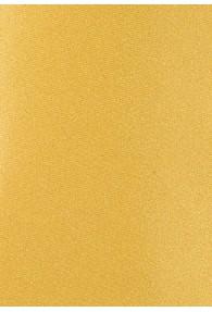 Krawatte monochrom Kunstfaser gelb