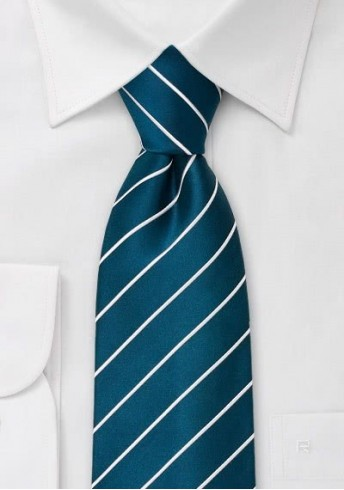 Elegance Krawatte türkis