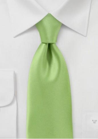 Kravatte unifarben Poly-Faser waldgrün
