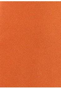 Kravatte einfarbig Mikrofaser orange