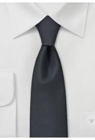 Krawatte anthrazit schmal
