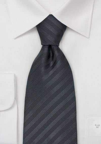 Chamonix Krawatte anthrazit