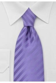 XXL-Krawatte violett strukturiert