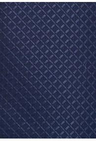 XXL-Herrenkrawatte strukturiert navyblau