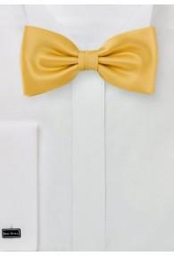 Stylische Herren-Schleife einfarbig gelb