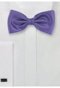 Markante Herrenfliege einfarbig violett