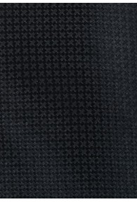 XXL-Krawatte monochrom schwarz