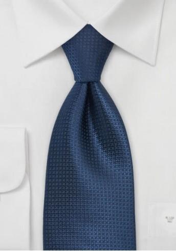 XXL-Krawatte monochrom nachtblau