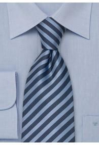 Chamonix XXL-Krawatte blau
