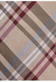 Modische Krawatte ungewöhnliches Glencheckdesign sandfarben