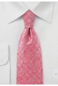 Krawatte rauhe Oberfläche  rosa