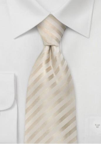 Chamonix Kinder-Krawatte creme