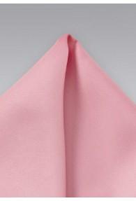 Einstecktuch Kunstfaser rosa