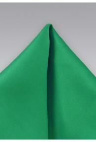 Einstecktuch Poly-Faser grün