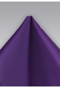 Einstecktuch Mikrofaser lila