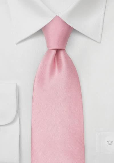 Limoges XXL-Krawatte rosa