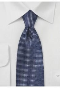 Clip-Krawatte strukturiert dunkelblau fast...