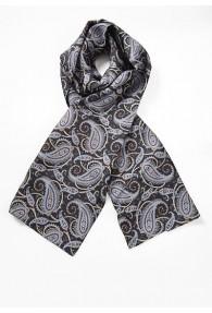 Modischer Krawattenschal buntes Paisley auf