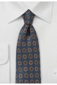 Krawatte traditionsreiches Emblem-Pattern...