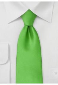 lange Krawatte unifarben grün