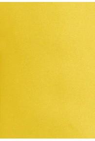 Lange Krawatte einfarbig gelb