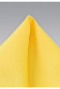Einstecktuch zitronengelb Poly-Faser