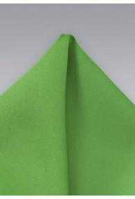 Einstecktuch leuchtendes grün Poly-Faser