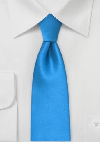 Schmale Krawatte in hellblau