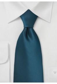 Clip-Krawatte aquamarinblau unifarben