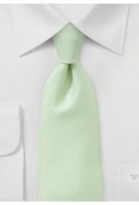 Kravatte geriffelte Struktur hellgrün