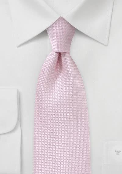 Krawatte Struktur blassrosa