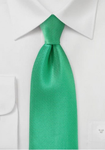 Krawatte Struktur giftgrün