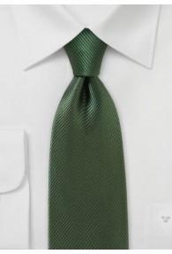 Businesskrawatte einfarbig oliv Linien