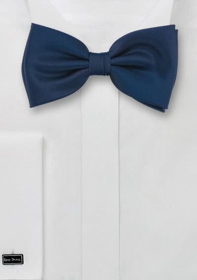 Herrenfliege Poly-Faser dunkelblau