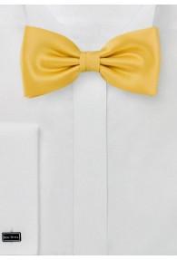 Herrenschleife Kunstfaser gelb