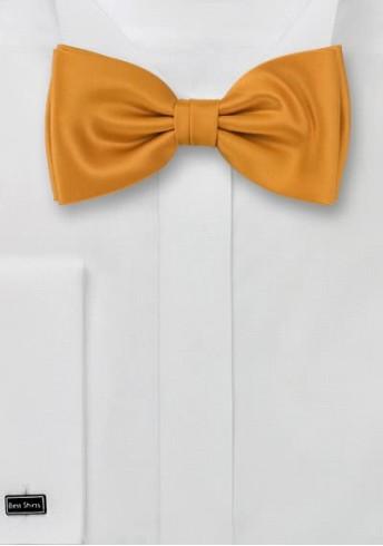 Herrenschleife Poly-Faser orange