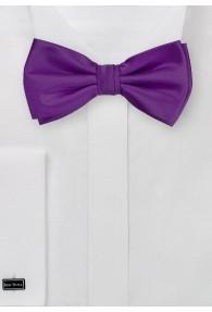 Herren-Schleife Poly-Faser violett