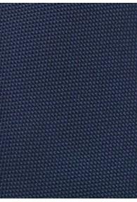 Clipkrawatte  zart strukturiert dunkelblau