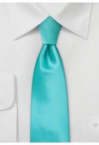 Schmale Krawatte in mintgrün