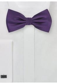 Fliege Seide violett