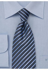 Streifenmuster-Krawatte für Kinder dunkelblau...