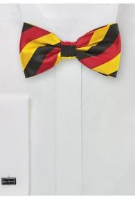 Herrenfliege Deutschlandfarben schwarz rot gold