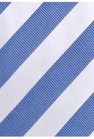 Herrenkrawatte hellblau weiß