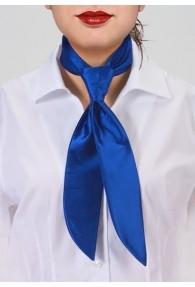 Service-Damenkrawatte blau einfarbig