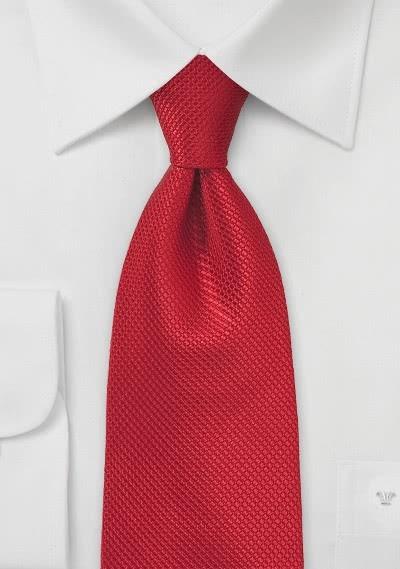 Krawatte Struktur rot