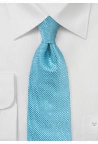 Krawatte strukturiert türkis