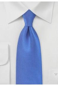 Krawatte monochrom strukturiert royal