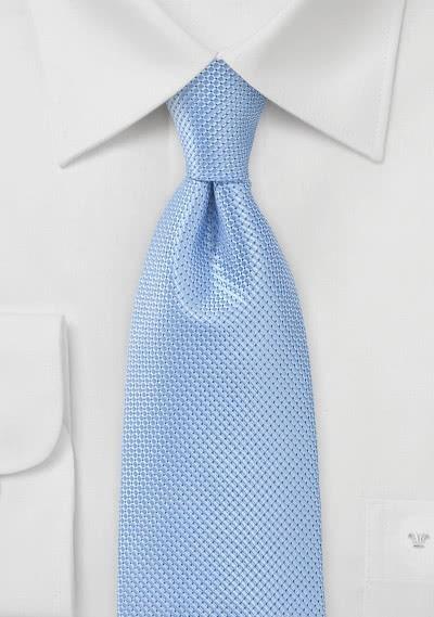 Krawatte Waffel-Oberfläche hellblau