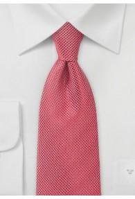 Businesskrawatte Netz-Oberfläche rot